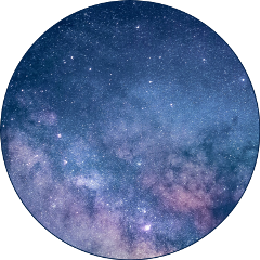galaxy circle transparent sticker freetoedit