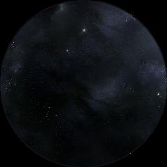 galaxy black circle transparent sticker
