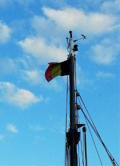 photography flag belgium boat