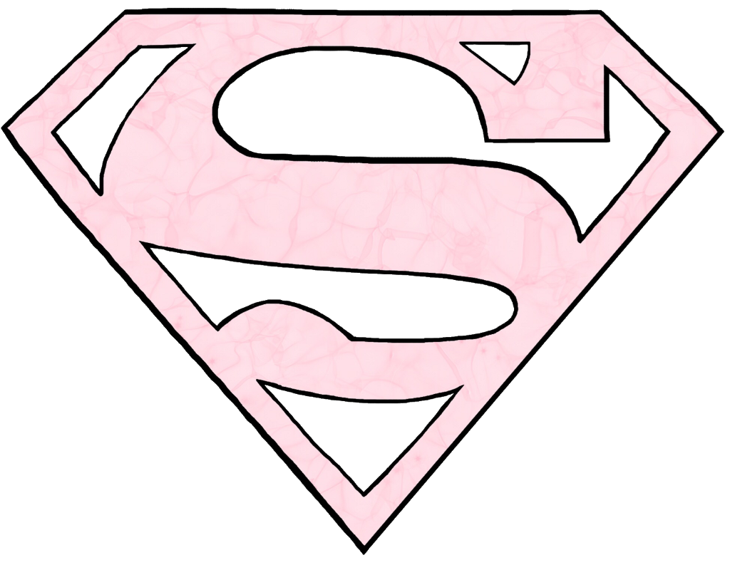 #superman #superwoman #logo #pink #freetoedit