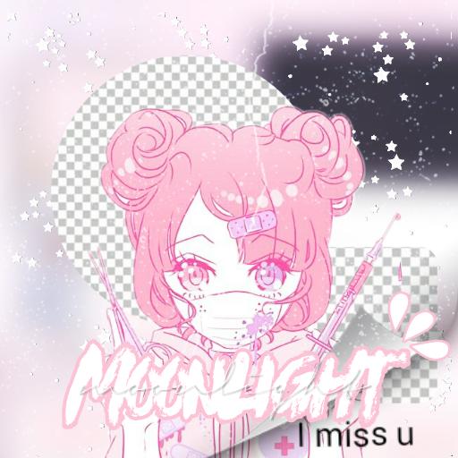 #FreeToEdit  #newprofilepic ?) #Moonlightedits #Pink #Rosa