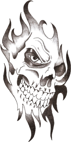 skulls tattoos freetoedit