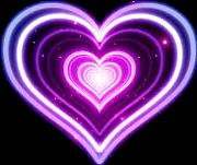 herz heart neon leuchtend love