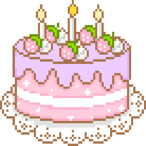 Birthday Sticker Tumblr