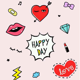 freetoedit happyday love collage cute