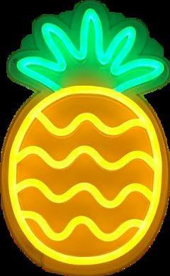 cute summer yellow pineapple 🍍