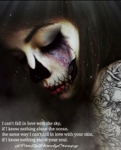 myedit quote quotesandsayings makeup effects dayofthedead freetoedit