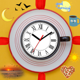 freetoedit day clock morning midday