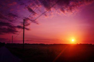nature kansas sunset pretty sky