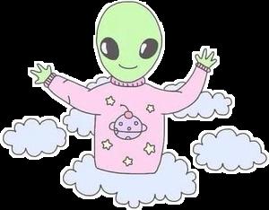 инопланетяне нло cute tumbler tumblr