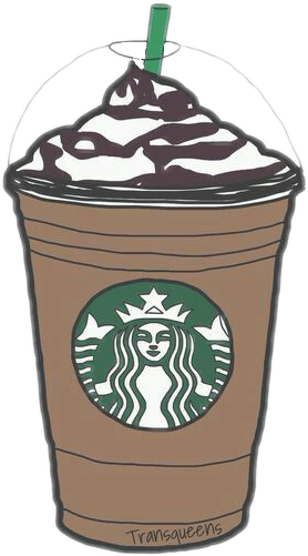Starbucks Coffee Cute Sticker Girly
