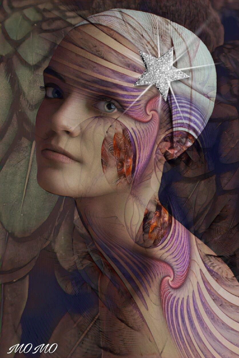 sweet dreams dear @pa friends 🌌#artisticselfie #myartwork #womanportrait #doubleexpesure #overlay