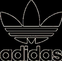 adidas stickers nationalicecreamday blackandwhite like