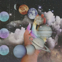 space Galaxy planet