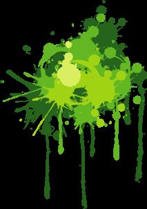green freetoedit paint splatter remixit