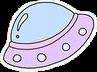 alien pastel alieninvasion purple pink