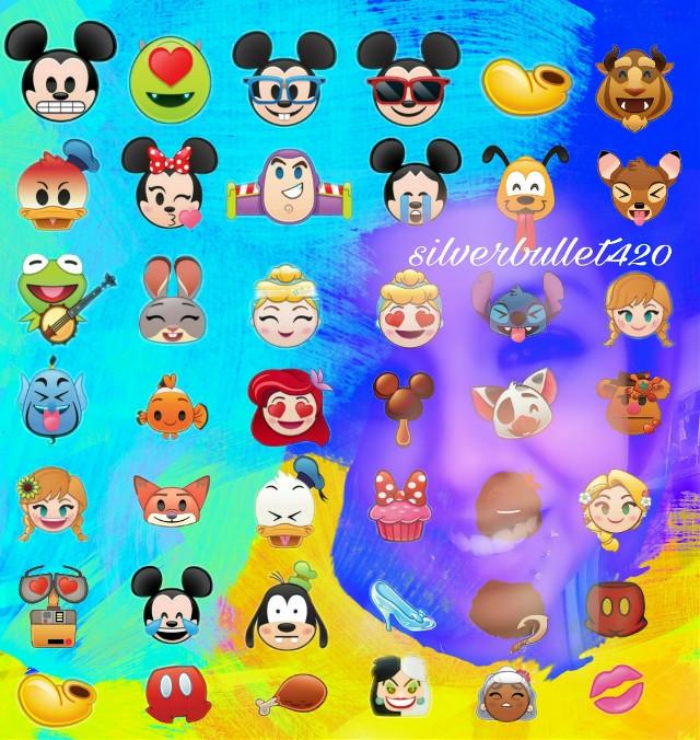 #happy #emojiday #emojiselfie #myedit I'm hiding behind the Emojis lol I wanted you to see the Emojis more than me🖒🤣😉