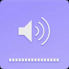 sticker big small sound phone