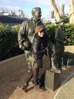statue selfie myhero freetoedit nofilter
