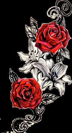 tattoo roses rosetattoo freetoedit