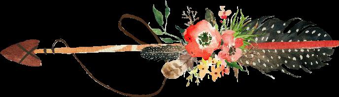 arrow flowers sticker freetoedit