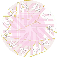cute pink marble icon background