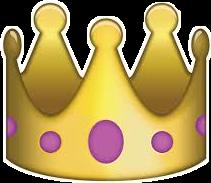 корона emoji смайл freetoedit