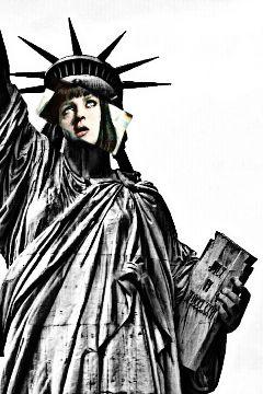 freetoedit missliberty newyorkcity newyork statue