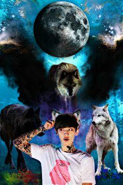 chanyeol exo kpop hdr2 wolf freetoedit