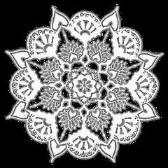 mandala tutorial resource overlay white