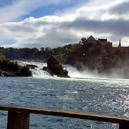 vacationmemories rhine rheinfall schaffhausen river