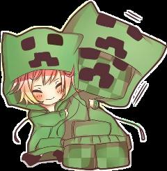 minecraft girl creeper girlcreeper маинкрафт