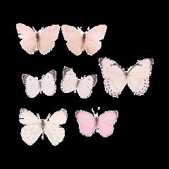 butterflies pink pastel ftestickers freetoedit