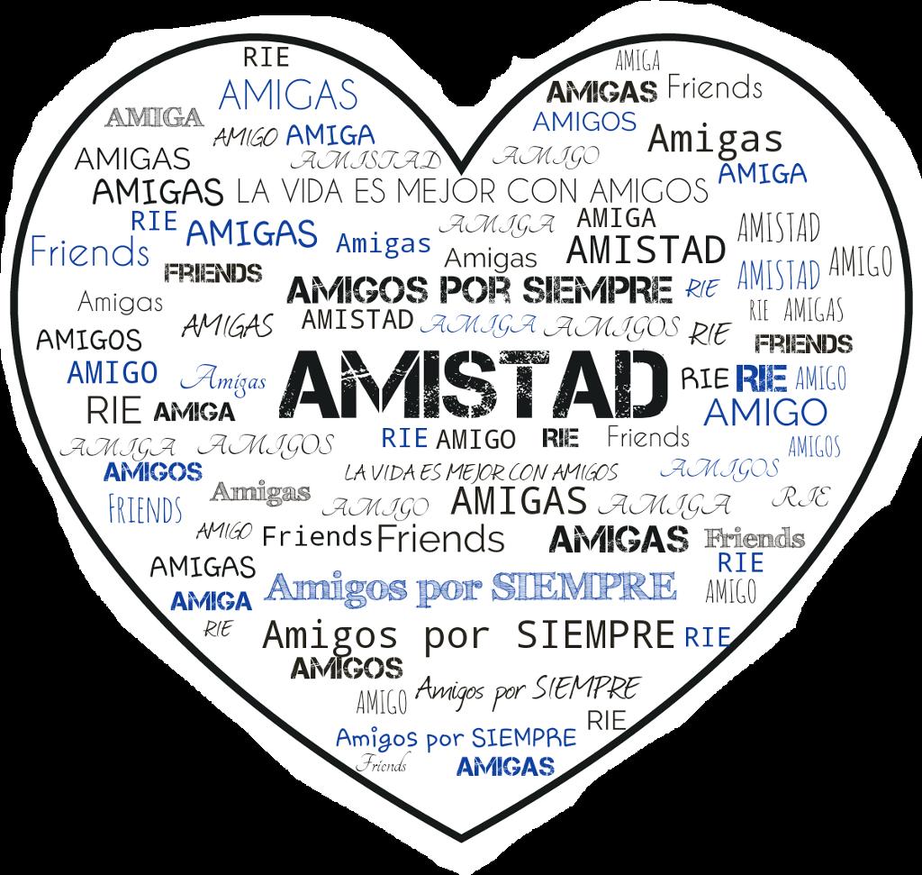 Stickers Amistad Amigas Amigos Frases