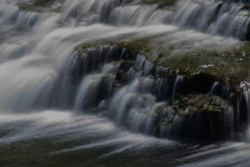 nature waterfall longexposure pretty water