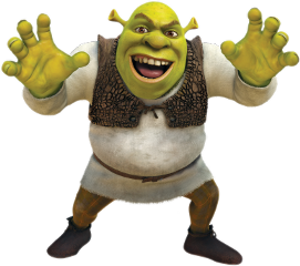 shrek character ogre freetoedit