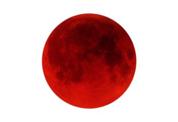 ftestickers moonstickers moon bloodyred planetstickers freetoedit
