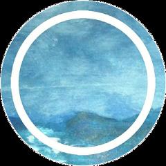 circle icon base iconbase blue