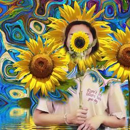 freetoedit sunflowerremix