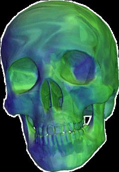 skull vapor vaporwave vaporwaveaesthetic aesthetic