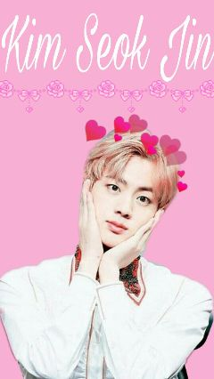 btsjin kawaii freetoedit