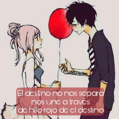 Amor Anime Destino Frases