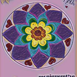 freetoedit mandalas mandala drawnwithpicsart craftymomma