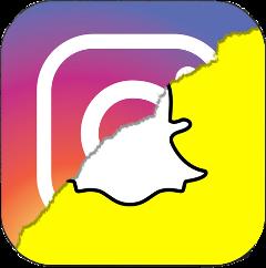 instagram snapchat freetoedit