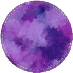 colorsplash circle ❍ purple freetoedit