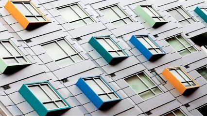 freetoedit urban colorful building windows