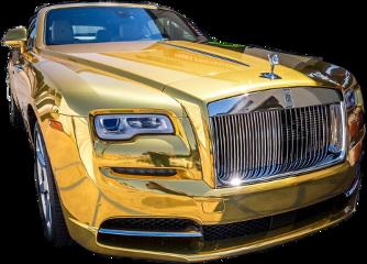 gold car rich freetoedit