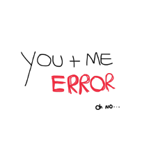 error red mydrawing you me freetoedit