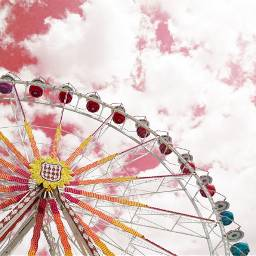 freetoedit bigwheel red recolored photography