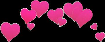 corazones corona freetoedit